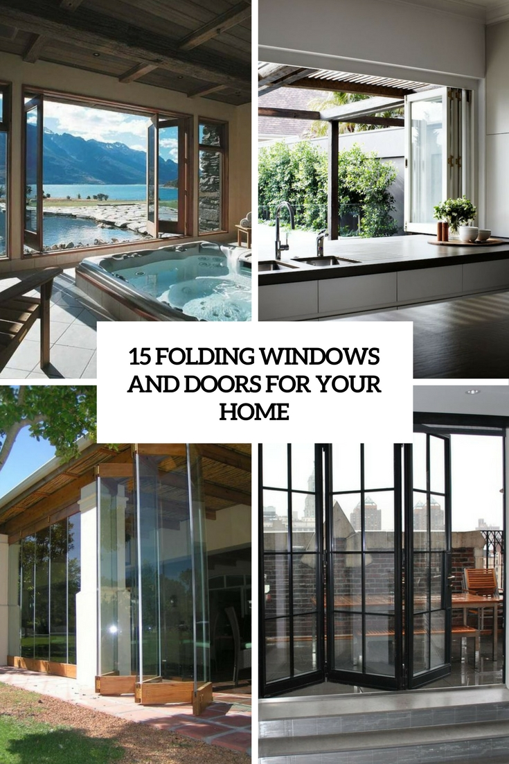 15 Folding Windows And Doors For Your Home