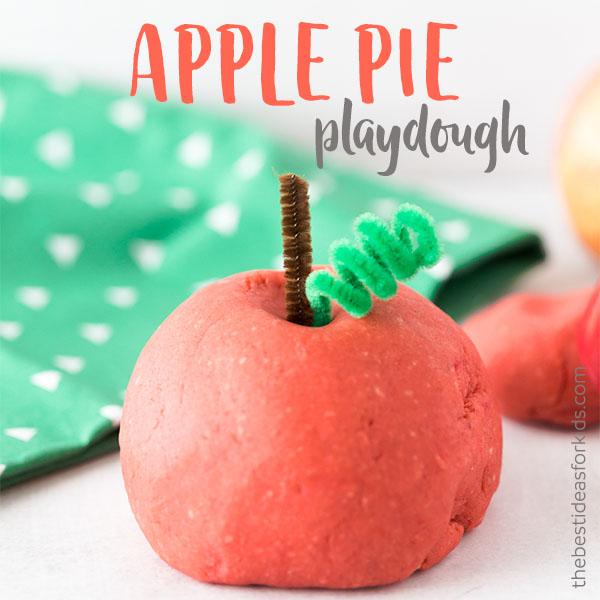 DIY apple pie playdough (via https:)
