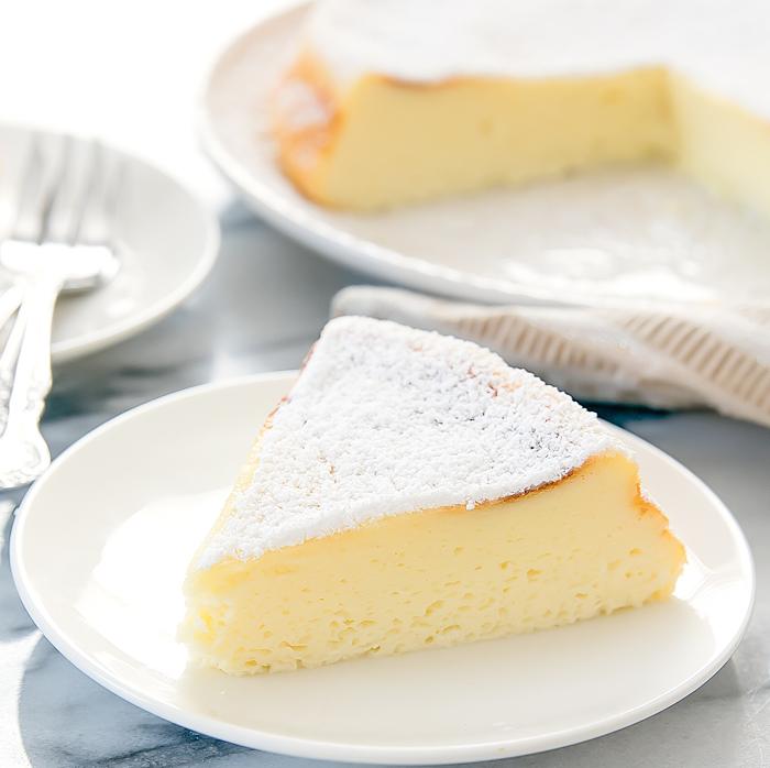 DIY rice cooker Japanese cheesecake (via kirbiecravings.com)