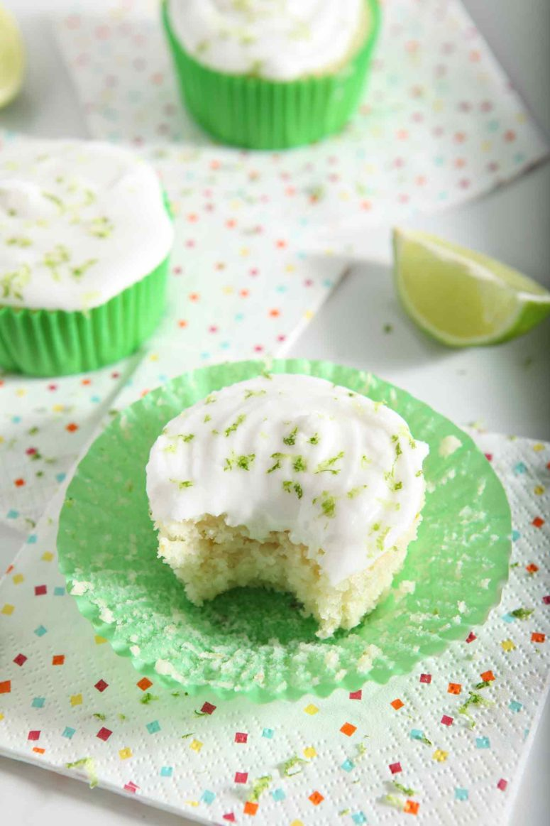 DIY Margarita cupcakes with salted tequila (via https:)