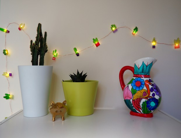 DIY cactus shrinky dink lights (via https:)