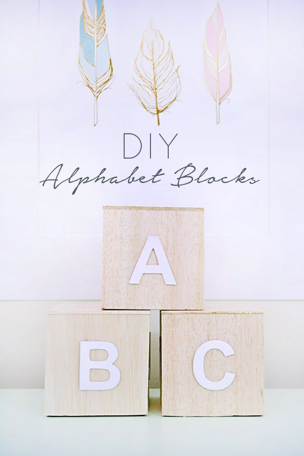 DIY balsa wood alphabet blocks (via brepurposed.porch.com)