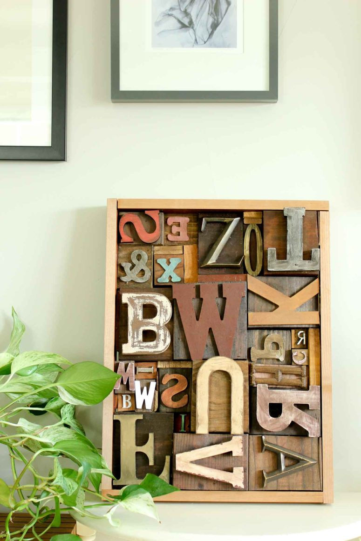 Marvelous DIY faux letterpress print blocks via https