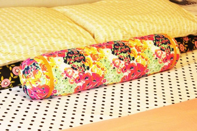 How To Make Or Sew A Bolster Pillow: 9 DIYs - Shelterness