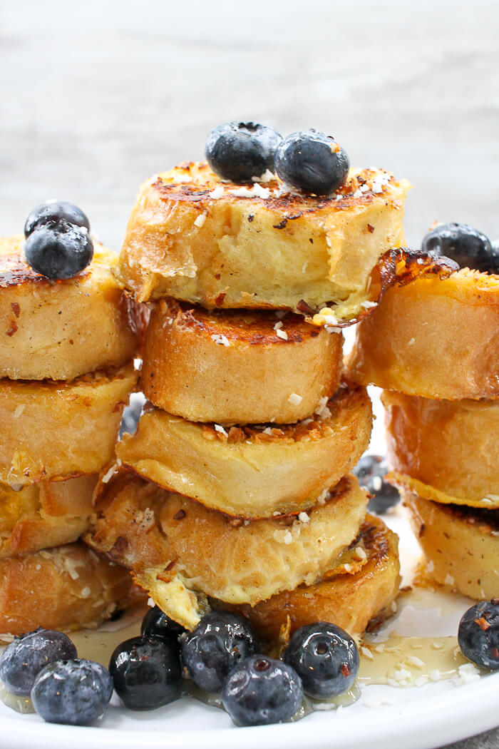 DIY coconut French toast