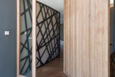 11 a wooden pivoting door can cause warping and become not very stable