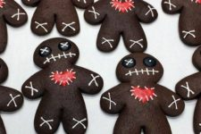 11 chocolate zombie cookies look stunning and cute, make some for your party