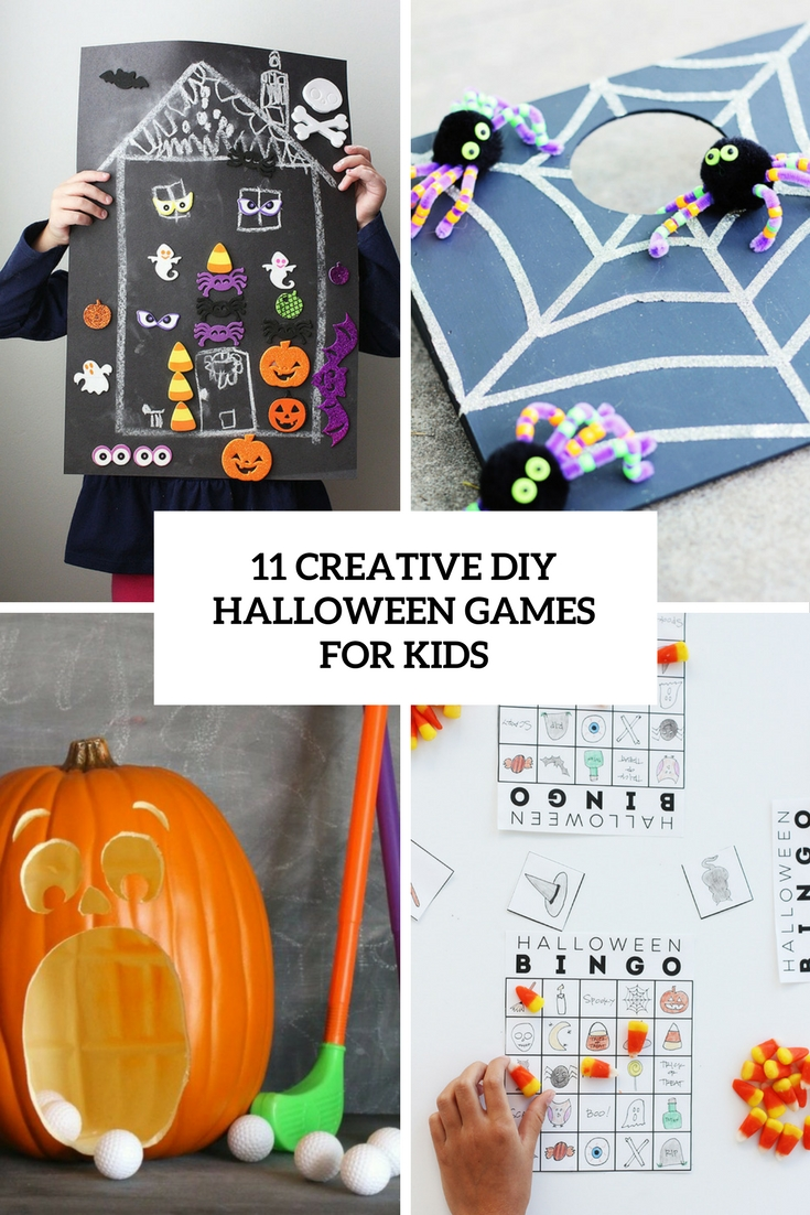 11 Creative DIY Halloween Games For Kids
