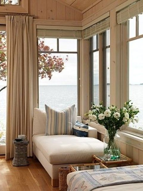 A Comfy Daybed At The Window With Sea Views Is Amazing For Reading And  Napping