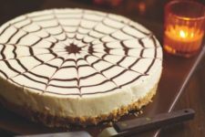 13 spider web cheesecake is an elegant and simple dessert to make