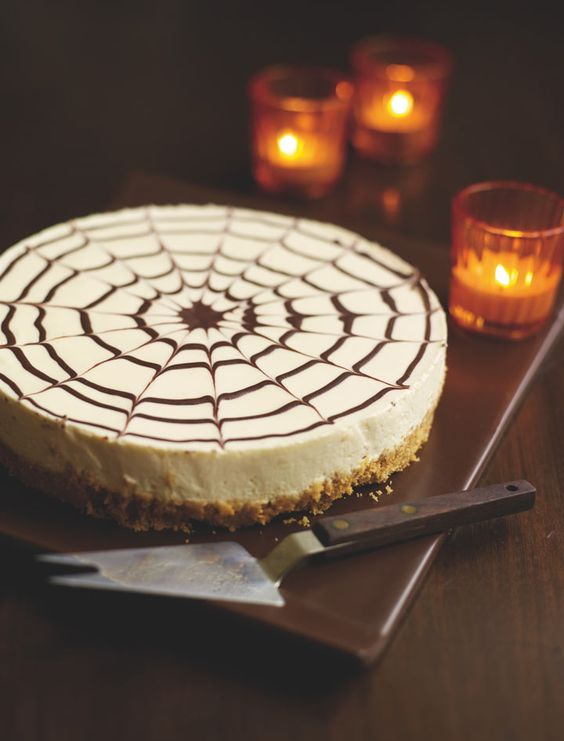 spider web cheesecake is an elegant and simple dessert to make