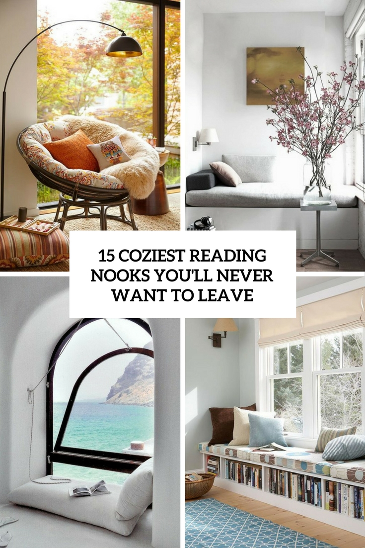 15 Coziest Reading Nooks You'll Never Want To Leave