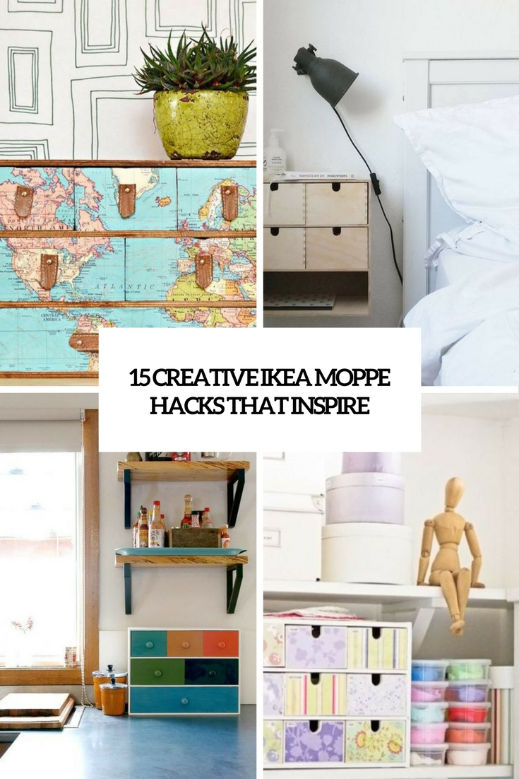 15 Creative Ikea Moppe Hacks That Inspire