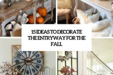 15 ideas to decorate your entryway for the fall cover