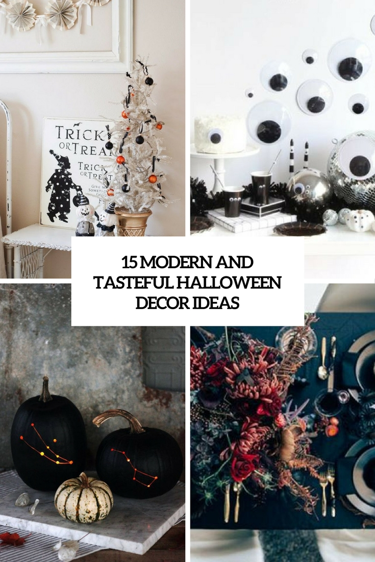 15 Contemporary And Tasteful Halloween Decor Ideas