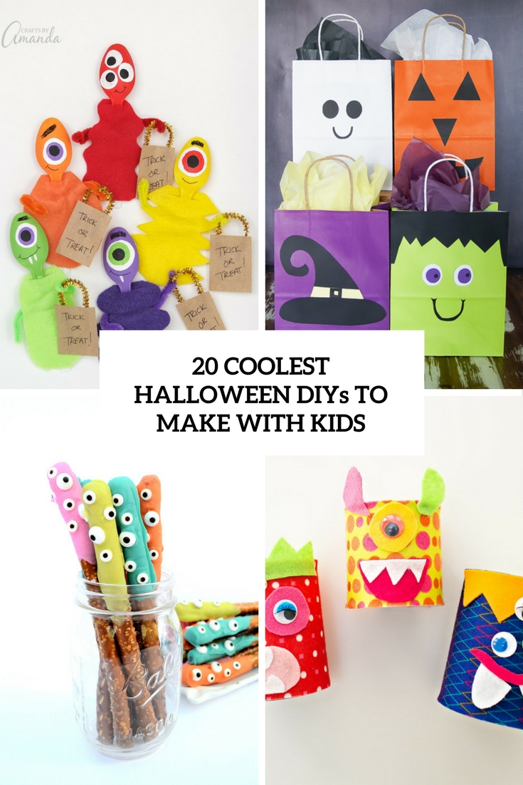 20 Coolest Halloween DIYs To Make With Kids