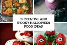 35 creative and spooky halloween food ideas cover