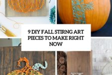9 diy fall string art pieces to make right now cover