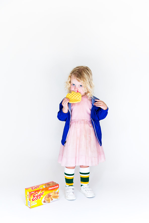 DIY Eleven from Stranger Things costume (via sayyes.com)