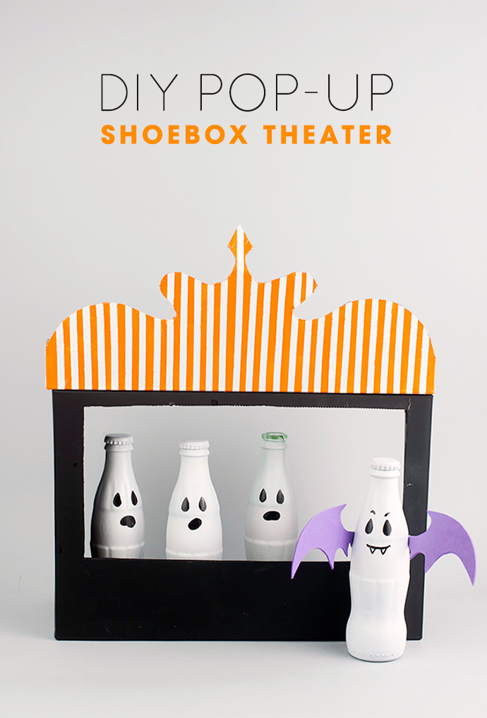 DIY Halloween box theater (via www.handmadecharlotte.com)