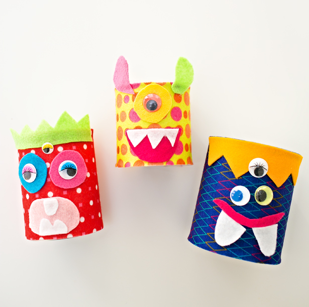DIY felt monster craft (via https:)