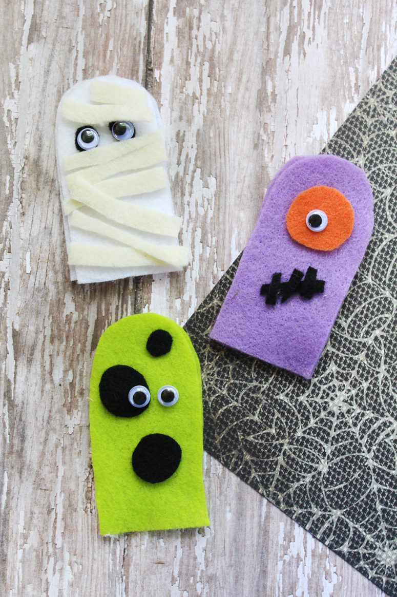 DIY felt finger puppet craft (via www.southernmomloves.com)
