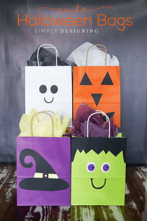DIY cute Hallowen bags (via simplydesigning.porch.com)