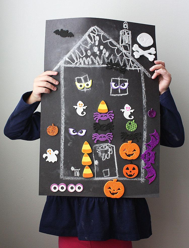 DIY haunted house game
