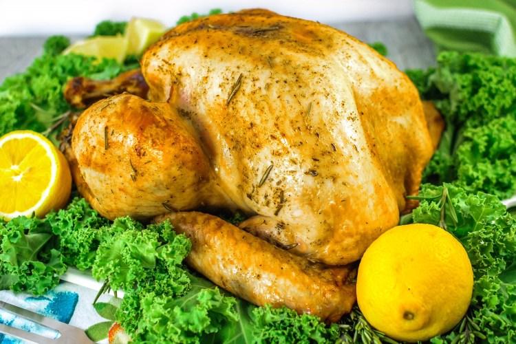 DIY lemon and rosemary roast turkey (via https:)