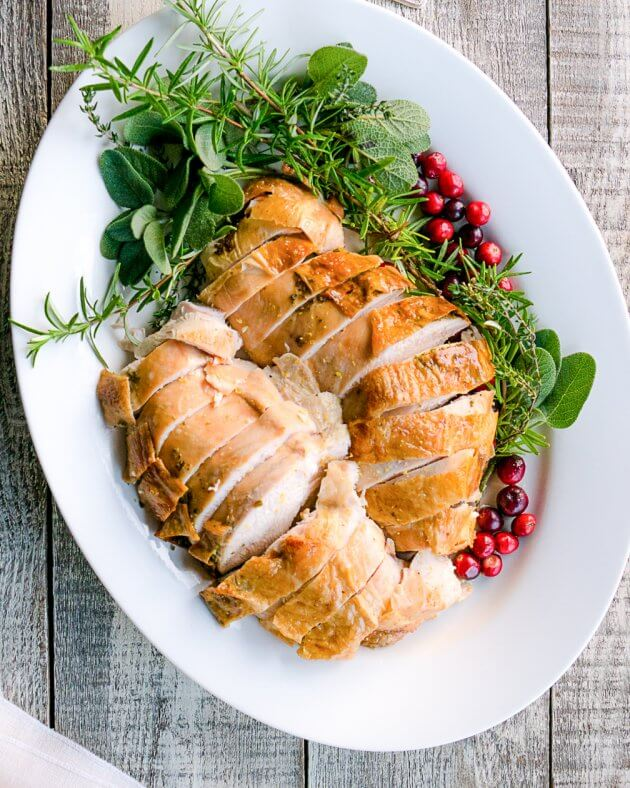 DIY roast turkey breast (via www.halfhersize.com)