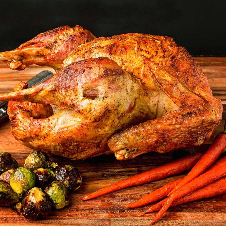DIY brined roast turkey (via glebekitchen.com)