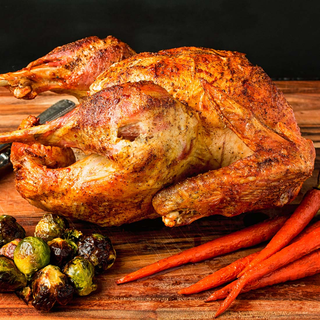 DIY brined roast turkey