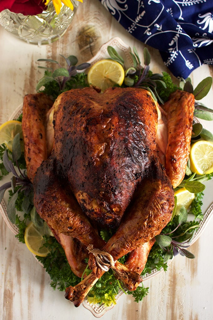 DIY roasted sage pesto turkey (via https:)