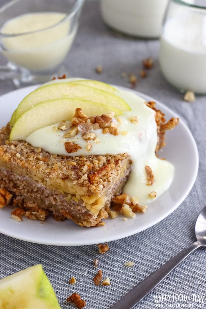 DIY apple oatmeal bake (via https:)