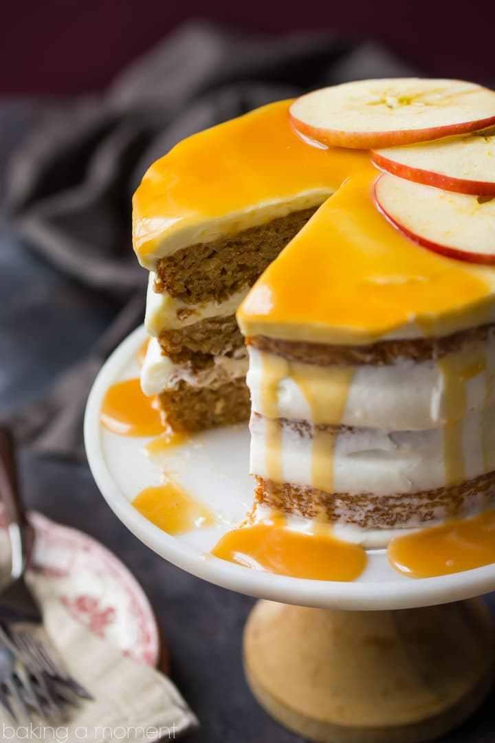 DIY apple honey cake (via https:)