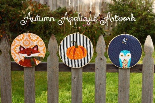 DIY applique artworks for fall (via www.shelterness.com)