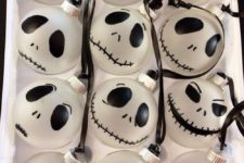 04 Jack Skellington ornaments can be hung here and there for party decor