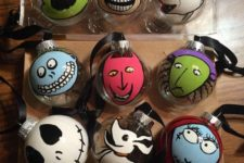 06 make some Nightmare Before Christmas ornaments to decorate your own Christmas tree