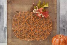 pumpkin wall art