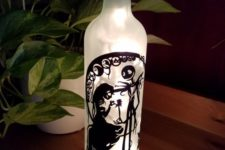 08 Nightmare Before Christmas wine bottle lamp with LEDs