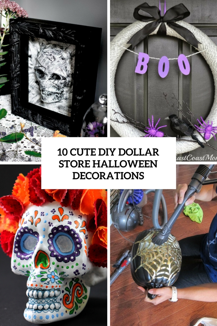 cute diy dollar store halloween decorations cover