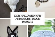 10 diy halloween knit and crochet decor projects cover