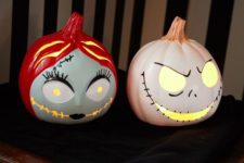 10 these light up The Nightmare Before Christmas pumpkins are simply meant to be in your home
