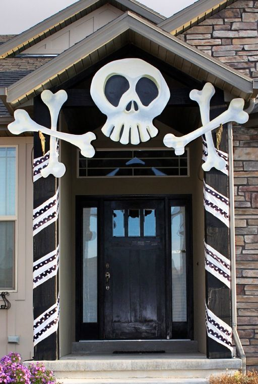 large nightmare before christmas entry decoration can be diyed