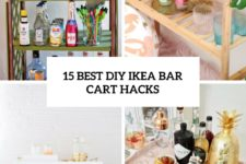 15 best diy ikea bar cart hacks cover