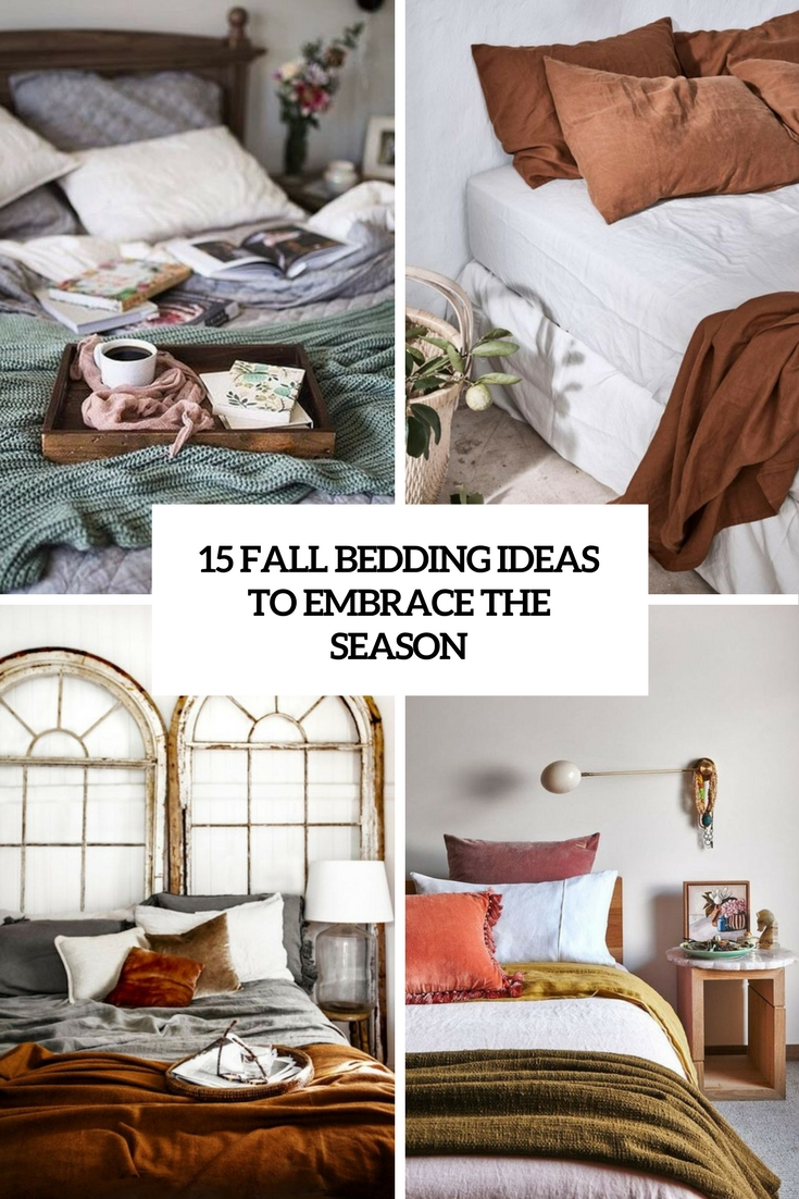 fall bedding ideas to embrace the season cover