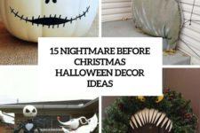 15 nightmare before christmas halloween decor ideas cover