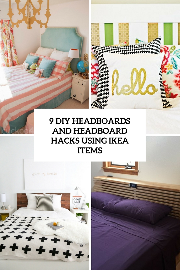 9 diy headboards and headboard hacks using ikea items cover
