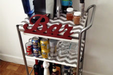 DIY Bygel bar cart hack