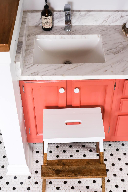 DIY Bekvam stool hack with paint